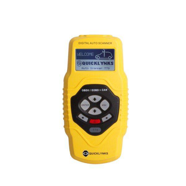 Highend Diagnostic Scan Tool OBDII Auto Scanner T79 (Yellow Multilingual Updatable) One Year Warranty