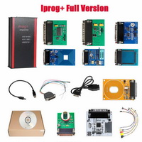 V84 Iprog+ Pro Programmer Full Version with Probes Adapters + IPROG Plus PCF79xx SD Card Adapter + Universal RDIF Adapter
