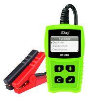 JDiag BT200 Universal 12V Battery Analyzer Digital Tester Detect Bad Cell Test