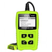 JDiag JD101 Code Readers Engine Scan Tool Check Engine Light Car Diagnostic Tool OBD2 Scanner Automotriz With Battery Test