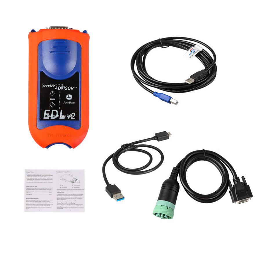 John Deere Service Advisor EDL V2 Diagnostic Kit without software
