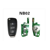 KD-NB02 Remote Key For KD900/KD900+/URG200 Remote Key Programmer For Peugeot/Citroen/Buick/Honda/Re-nault/Opel 5pcs/lot