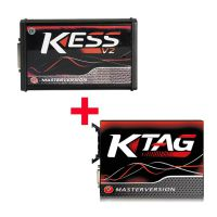 Kess V2 V5.017 SW V2.47 Red PCB EU Online Version Plus Ktag 7.020 SW V2.25 Red PCB EURO Online Version