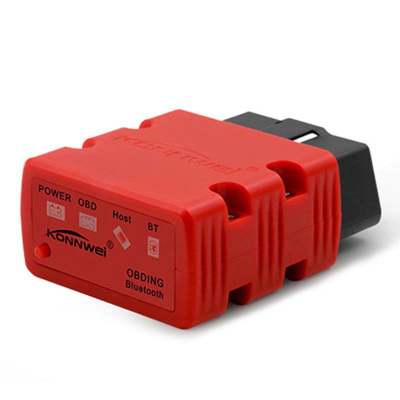 Car OBD-II OBD2 Bluetooth Scanner KW902 Fault Detector Auto Diagnostic Tool