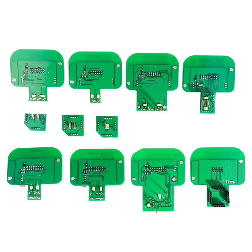 BDM Frame Full Set 22pcs adapters BDM Frame ECU RAMP For KESS KTAG FGTECH V54 BDM100 CMD100 BDM Frame Full Sets ECU Programmer