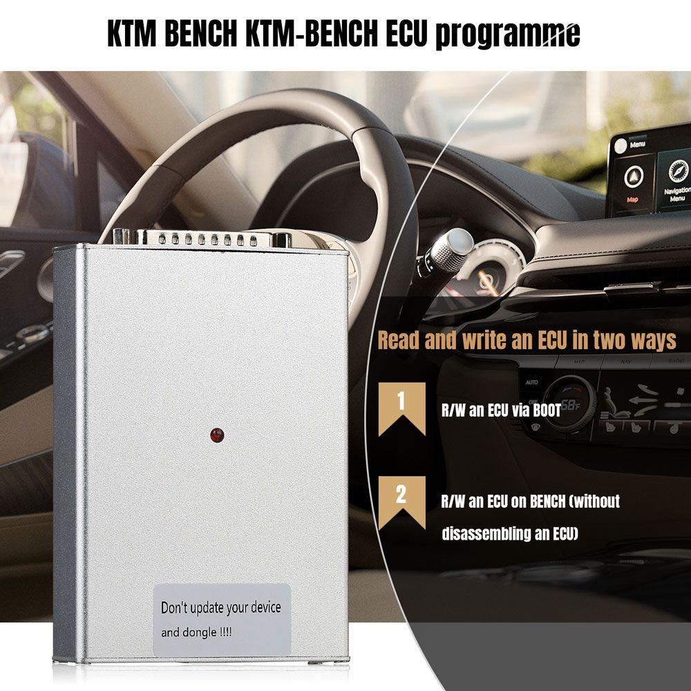 KTM FLASH KTM BENCH KTM OBD1.20 3 in 1 ECU Programmer Update Version of KTM Bench V1.20