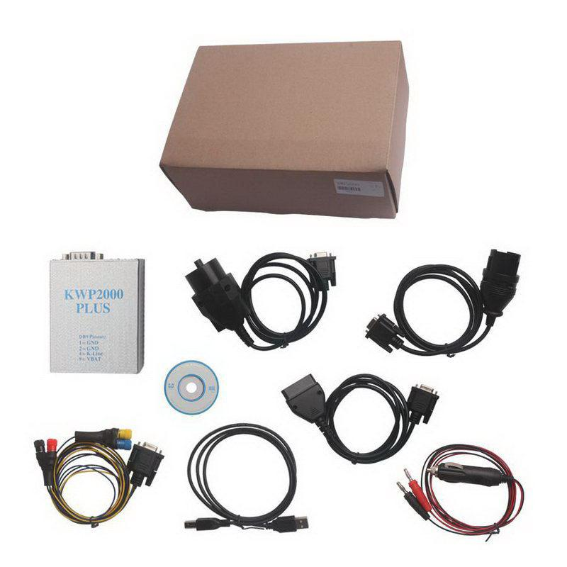 KWP2000 Plus ECU Remap Flasher With Multi Languages