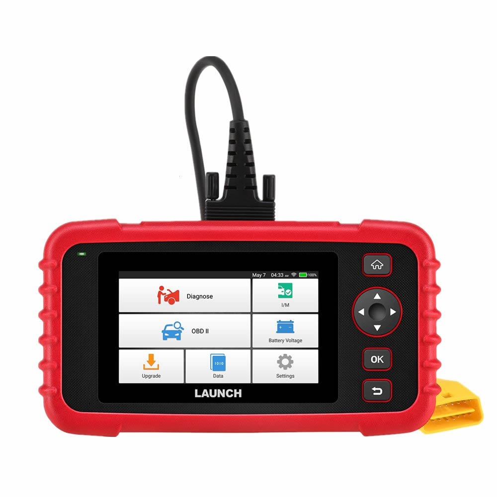 LAUNCH CRP123X OBD2 Code Reader for Engine Transmission ABS SRS Diagnostics with AutoVIN Service Lifetime Free Update Online