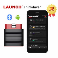 LAUNCH Thinkdriver Bluetooth OBD2 Scanner Automotive OBD 2 IOS Car Diagnostic Code Reader OBD Android Scanner PK Thinkdiag AP200