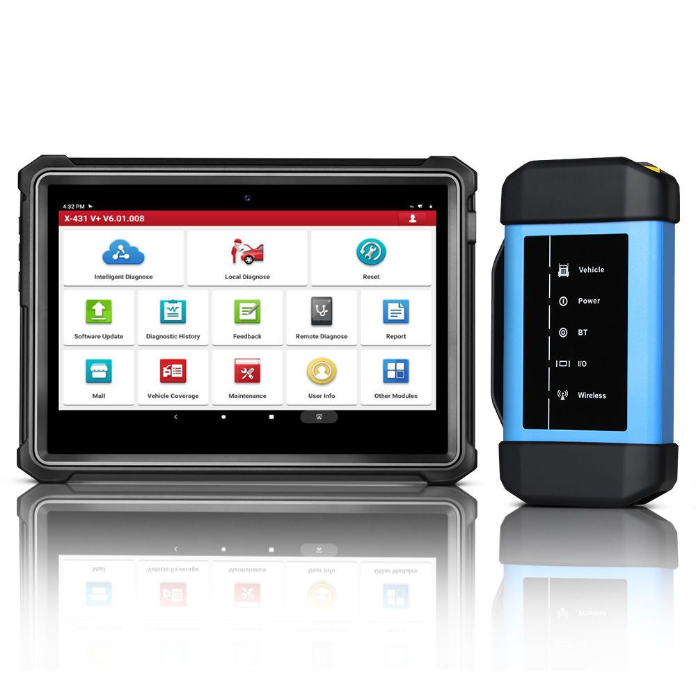 Original Launch X431 V+ HD3 Wifi/Bluetooth Heavy Duty Truck Diagnostic Tool Free Update Online