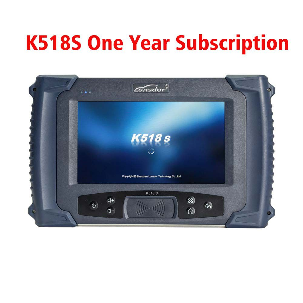 Car Key Programming Tool LONSDOR K518S Key Programmer Full Version One Year Update Subscription After 180 Days Trial Period
