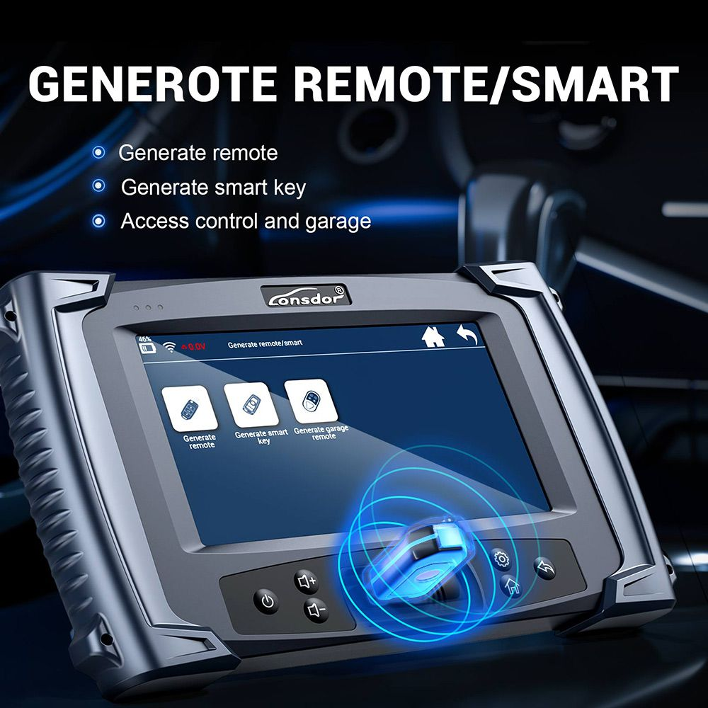 LONSDOR K518S Key Programmer Basic Version No Token Limitation Supports All Makes and Odometer Adjustment Function