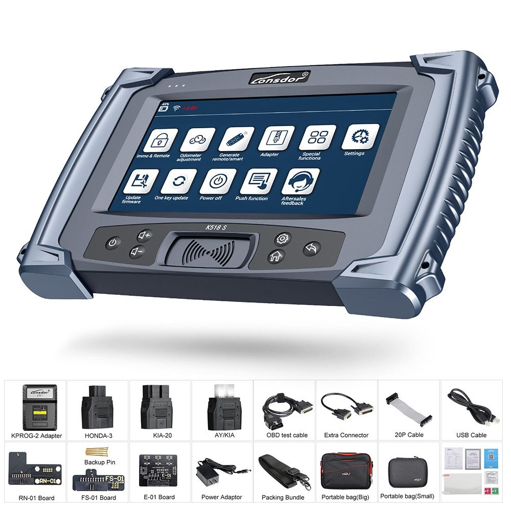 Lonsdor K518S Key Programmer Plus Lonsdor LKE Smart Key Emulator 5 in 1 Supports VW 4th&5th IMMO and BMW FEM/BDC