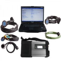V2020.9 MB SD C5 Star Diagnosis with SSD Plus Panasonic CF52 Laptop 4GB Software Installed Ready to Use