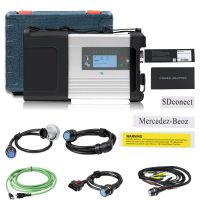 MB SD C5 BENZ C5 DOIP Star Diagnosis with Wifi for Cars and Trucks in Plastic Case No Software