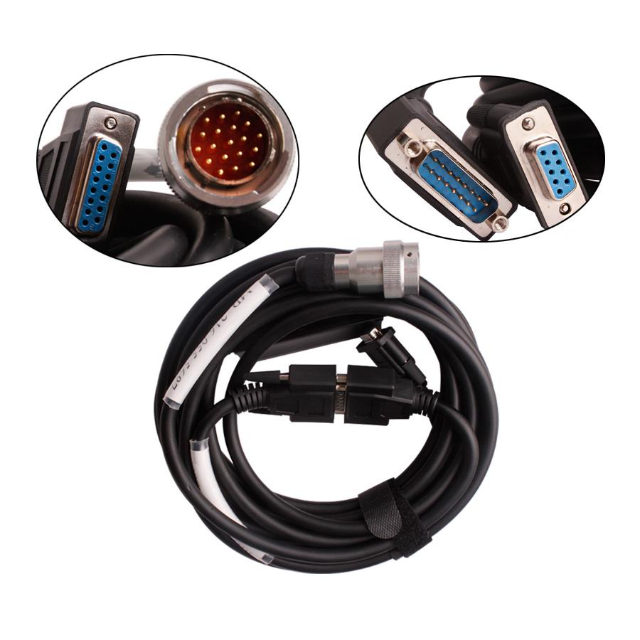 V2016.7 Mb Star C3 Pro Red Interface With Seven Cable For BENZ Truck and Cars