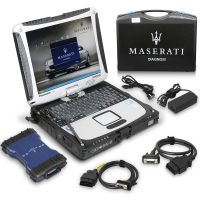 MDVCI Maserati Detector Support Programming and Diagnosis with Maintenance Data Installed on Panasonic CF19 Ready to Use