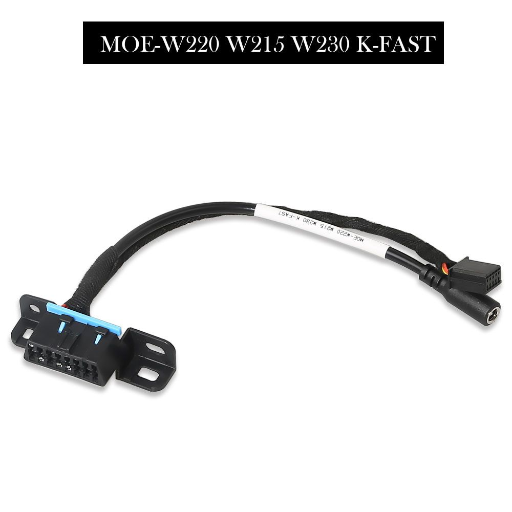 Mercedes Locks OBD Test Line 7 pcs for W209/W211/W906/W169/W208/W202/W210/W639 EZS Cable works with VVDI MB Tool