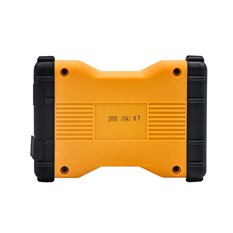Promotion 2015.3 New TCS CDP+ Multi Vehicle Diag Yellow Version With Bluetooth