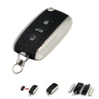 Modified Remote Key Shell 3 Button For New Porsche Cayenne