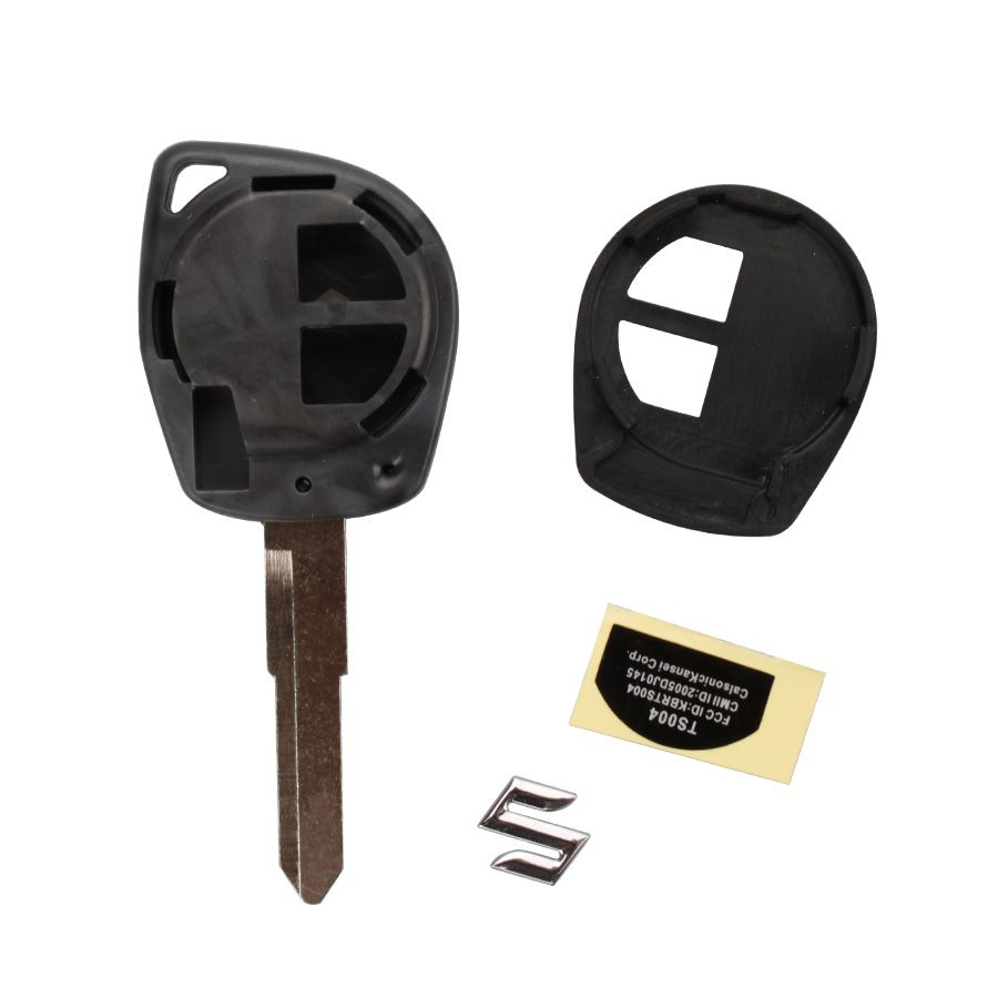 Remote Key Shell 2 Button for New Suzuki 5pcs/lot