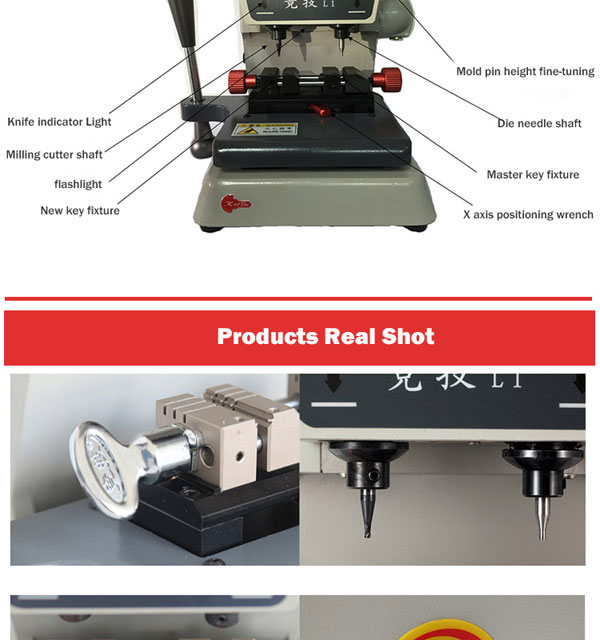 L1 Key Cutting Machine-4
