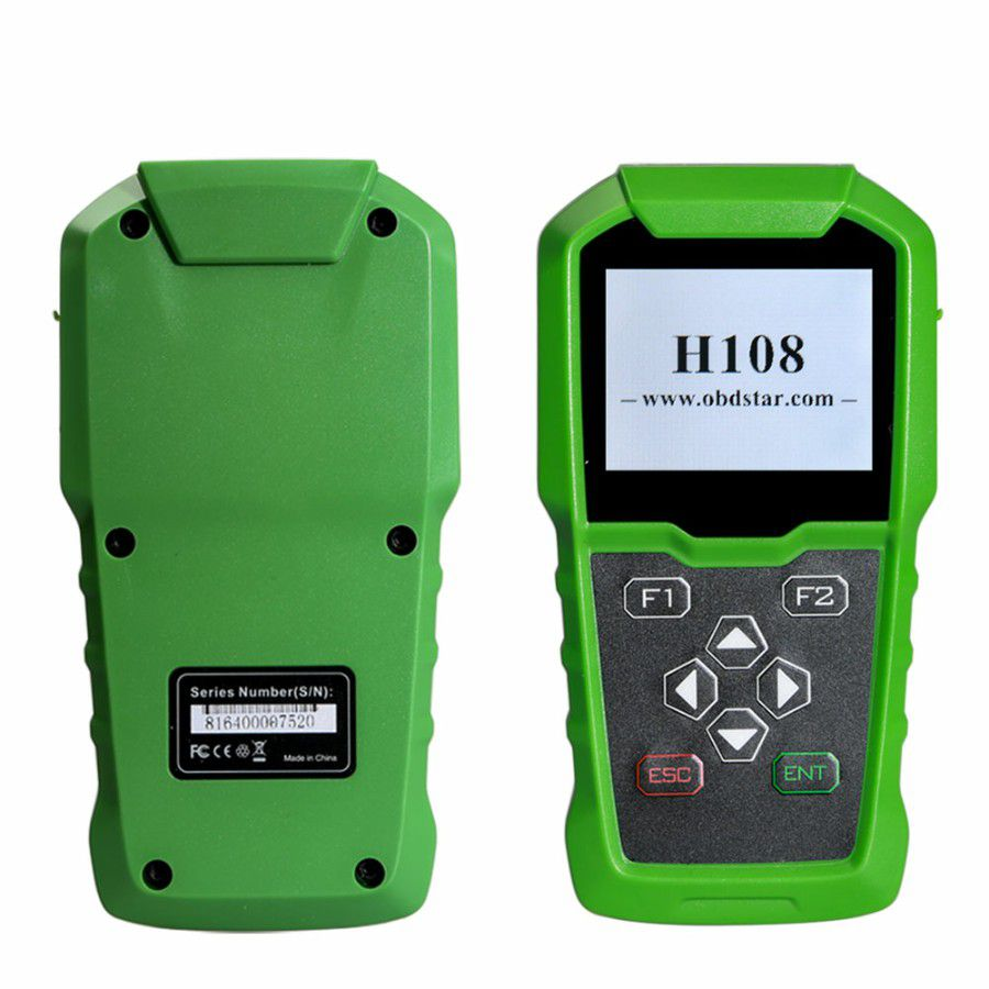OBDSTAR H108 PSA Programmer Support All Key Lost/Pin Code Reading/Cluster Calibrate for Peugeot/Citroen/DS Supports Can & K-line