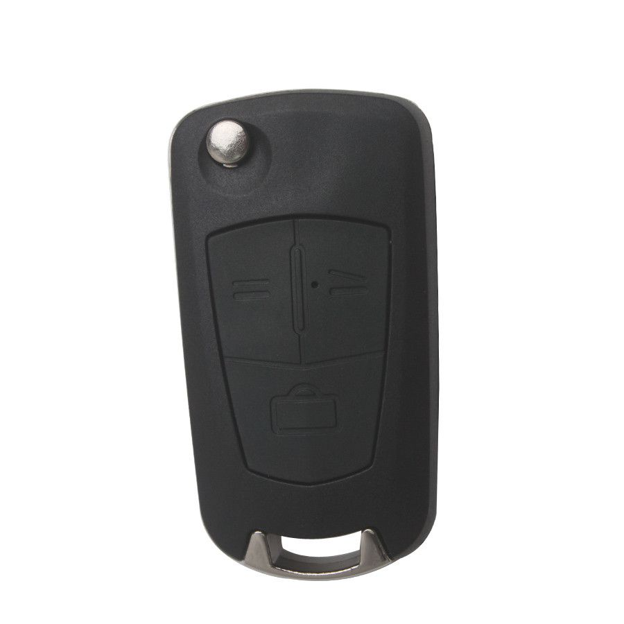 Remote Key Shell 3 Button (HU100A) For Opel Modified Flip 5pcs/lot