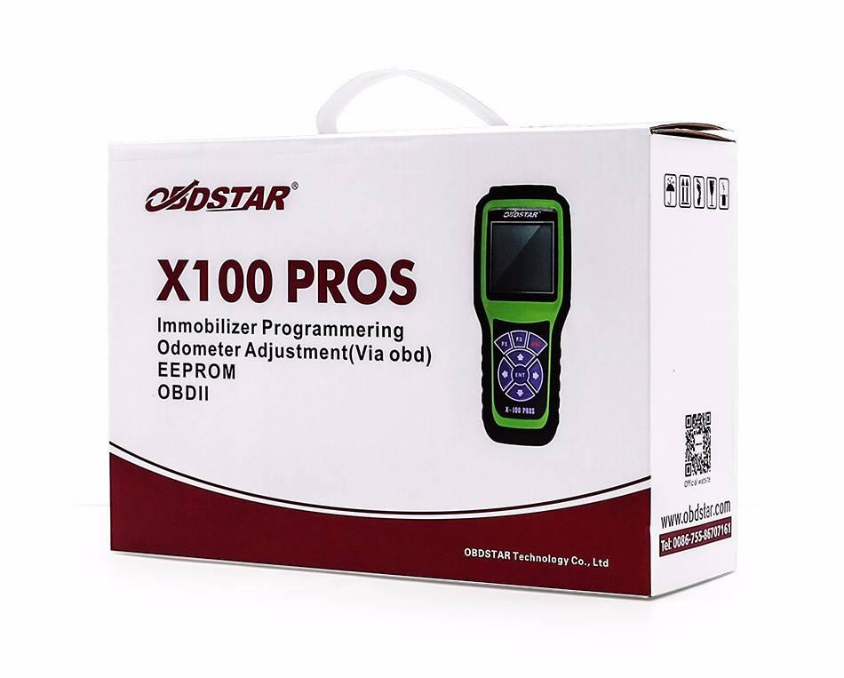 Original OBDStar X100 PROS C + D +EEPROM Model X-100 PROS Auto Key Programmer Odometer Correction Tool