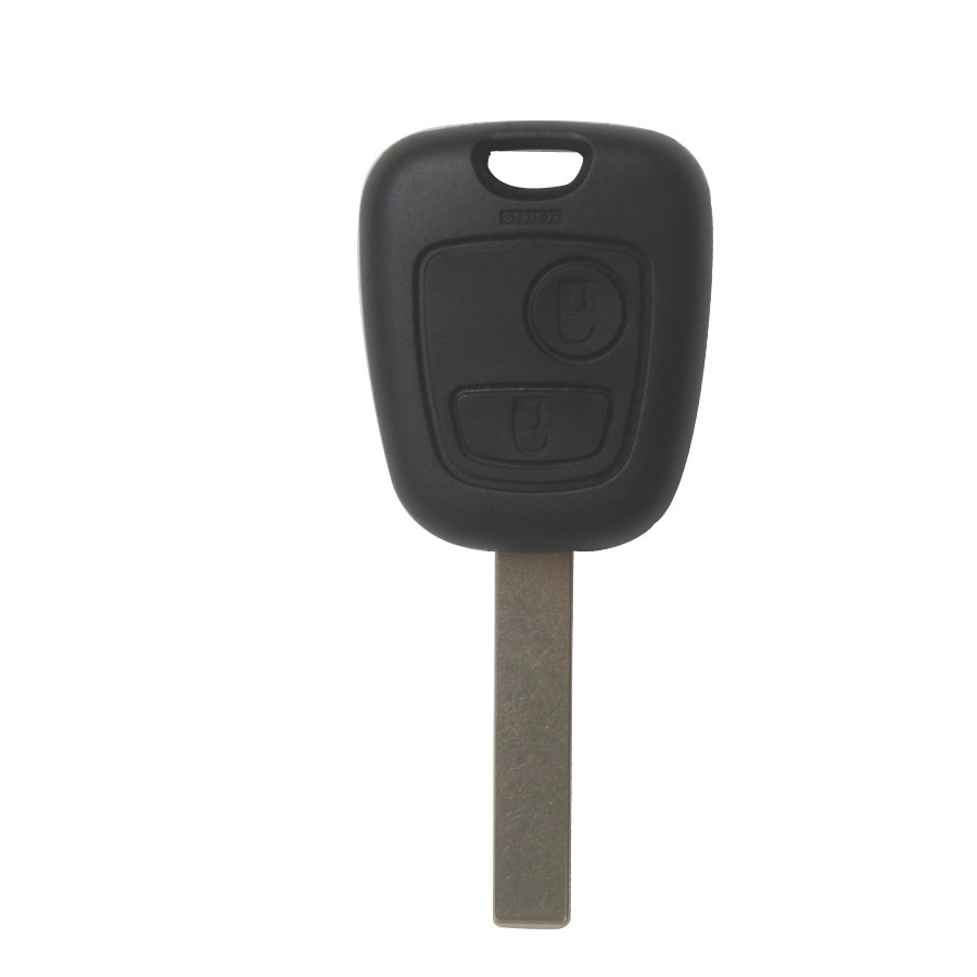 Remote Key Shell For Peugeot 2 Button HU83 (Without Logo) 10pcs/lot