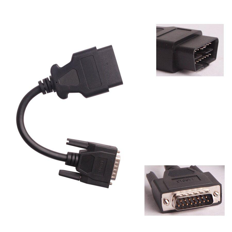 PN 448013 OBDII Adapter For XTRUCK 125032 USB Link + Software Diesel Truck Diagnose And VXSCAN V90