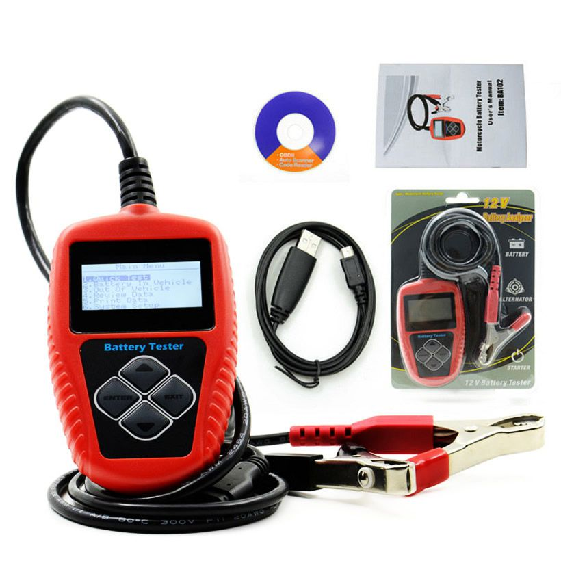 QUICKLYNKS BA102 Motorcycle Battery Tester