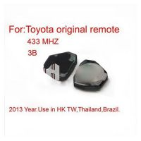 Remote 3 Button 433MHZ for Toyota Free Shipping
