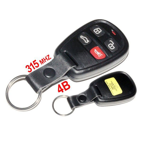 Remote 4 Buttons 315MHZ Remote Key For Kia Optima