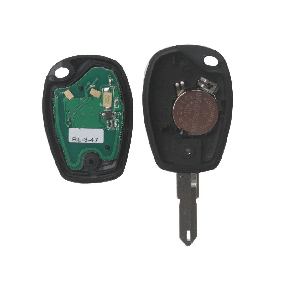 3 Buttons Remote Key PCF7947 433MHZ for Renault 5pcs/lot