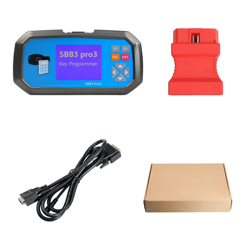 2019 Latest Version SBB Key Programmer SBB3 PRO3 Key Programmer Key Master with Immobiliser + Odometer Adjustment Functions