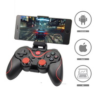 T3 X3 Wireless Joystick Gamepad PC Game Controller Support Bluetooth BT3.0 Joystick For Mobile Phone Tablet TV Box Holder
