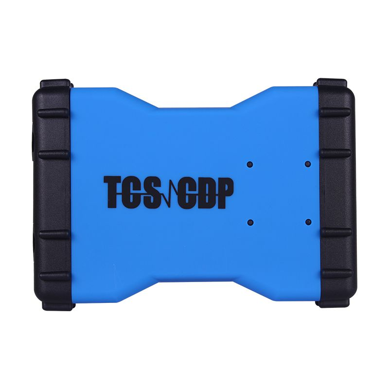 Promotion 2015.3 New TCS CDP+  Auto Diagnostic Tool Blue Version Without Bluetooth