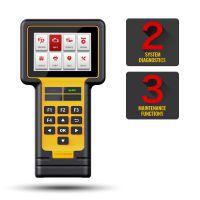 THINKCAR Thinkscan 600 ABS/SRS Full System Diagnostic Auto OBD2 Scanner TS600 Oil/TPMS/EPB Reset OBD2 Code Reader PK CR619 AL619