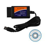 ELM327 V1.5 Plastic OBDII EOBD CANBUS Scanner Without FT232RL Chip