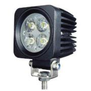 New 10W Spot/Flood LED Work Light OffRoad Jeep Boat Truck IP67 12V 24V