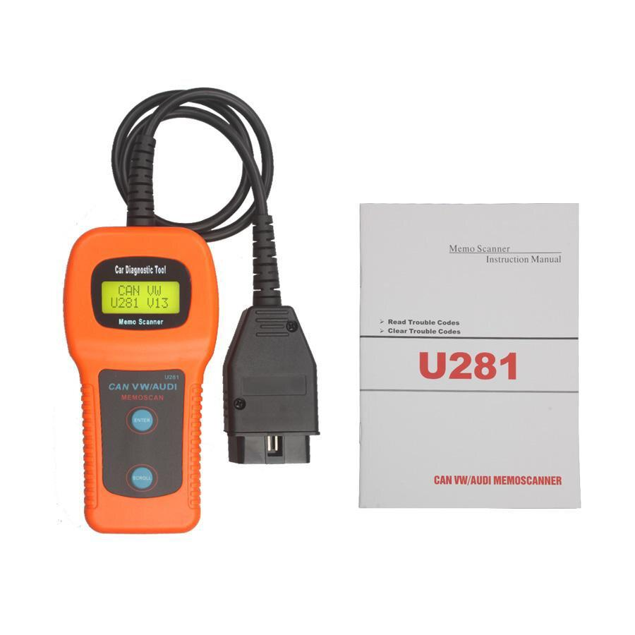Memoscan U281 VW Audi Seat CAN-BUS OBD Code Reader
