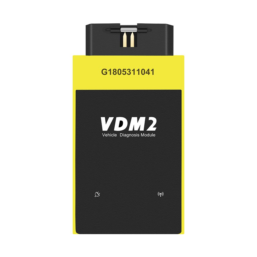 New UCANDAS VDM2 Full system V5.2 Bluetooth OBD2 VDM II for Android VDM 2 OBDII Code Scanner PK easydiag Update Free