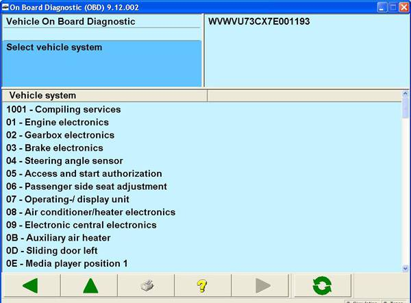 VAS 5054A Software 3