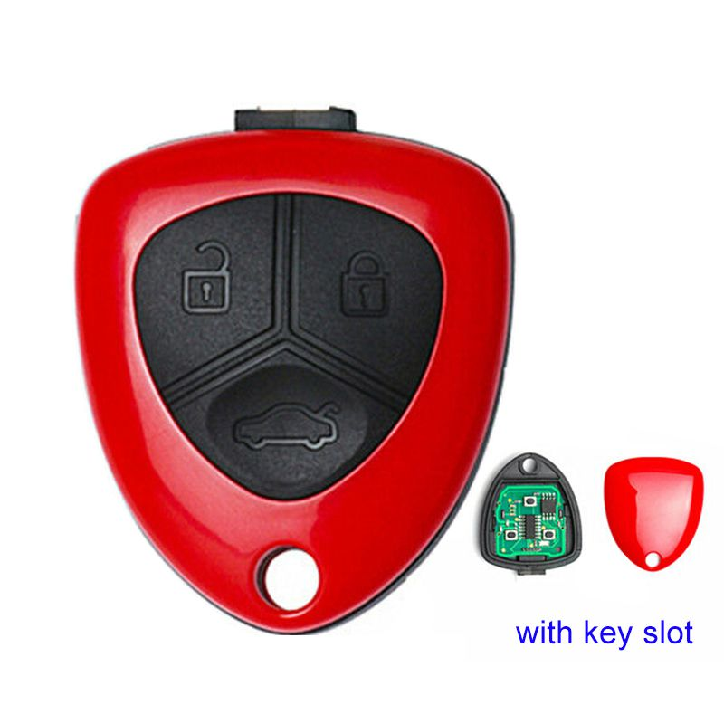 Xhorse VVDI Key Tool VVDI2 Ferrari Wire Remote Key 3 Button Red XKFE00EN 5pcs/lot