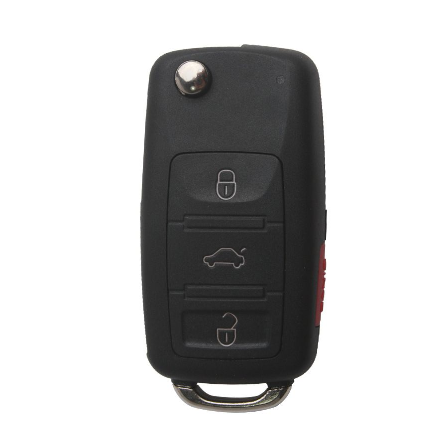 Remote Key Shell (3+1) Button For VW Touareg 5pcs/lot