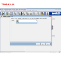 Wabco Diagnostic Software Wabco TEBS-E 5.50 + PIN Calculator + New Activator English and German Version