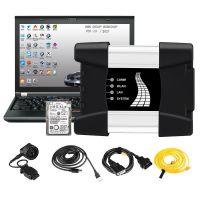 V2021.9 Best Quality WIFI BMW ICOM NEXT A + B + C NEW GENERATION Of ICOM A2 Installed on Lenovo T410 4GB Memory Ready to Use