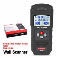 WINTACT Digital Wall Scanner WT55 Handheld Professional Multifunction Wall Iron Metal Wood Wire Galvanized Pipe Finder Scanner
