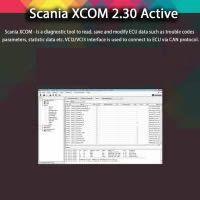 Scania XCOM V2.30 (XCOM-SOPS-Scania SDP3-BNS II) Support Win XP/Vista/7/8